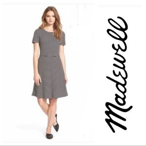 MadeWell Anywhere striped dress
